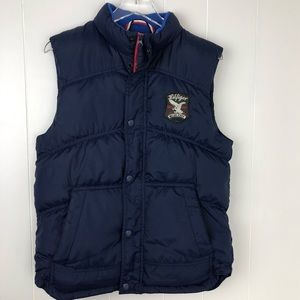 Tommy Hilfiger Denim Navy Down Puffer Vest -M